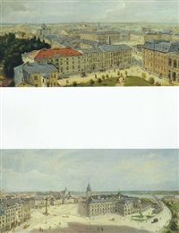 views of warsaw by czeslaw boris jankowski