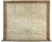 a hand-knotted wool carpet, circa 1950 by paule leleu