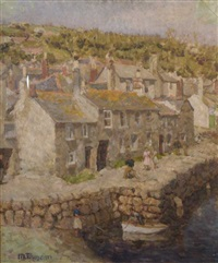 a view of mouse hole, cornwall by mary duncan