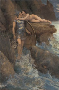 perseus and andromeda by charles napier kennedy