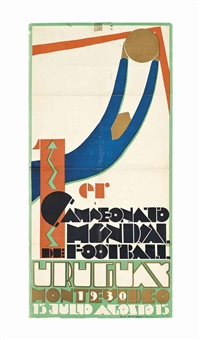 1er campeonato mundial de football, uruguay 1930 by guillermo laborde