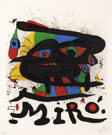 exhibition miro sculpture by joan miró