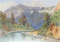 rangitikei river by ella spicer