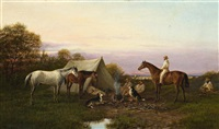 drovers by the billabong by william short