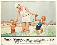 great yarmouth and gorleston on sea by septimus e. scott