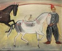 in the circus arena by nikolai mikhailovich rodionov