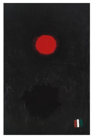 roman three no 2 by adolph gottlieb