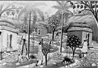 tropical scene by fritz merise