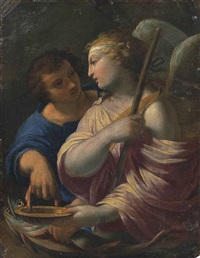 tobias and the angel by simon vouet
