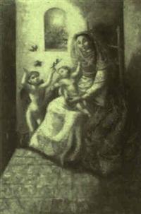 virgen con el niño by jose pico mitjans