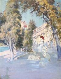 villa du barron de courcelles à la croisette (cannes) by raymond allègre