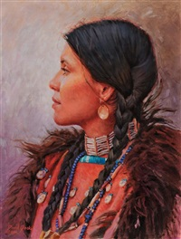 daughter of the osage and sioux by david yorke