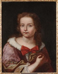 ritratto di bambina by domenico maggiotto