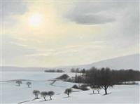 soleil d′hiver by claude sauthier