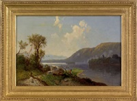view on the susquehanna river by william sheridan young