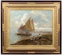 barche a venezia by alessandro milesi