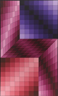 antik by victor vasarely