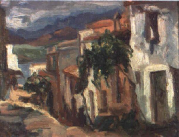 pueblo mediterráneo by joaquim asensio