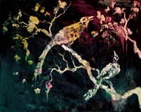 flesh, flowers and birds - waiting for dawn (from the pork belly series) by chang ling