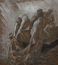untitled (fisherfolk) by brian james dunlop