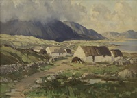 connemara cottages by rowland hill