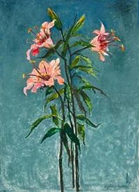 lillies by john alexander