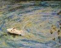 waterskiing - wiseman's ferry nsw by micky allan