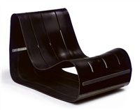 fiorenza lounge chair by motomi kawakami