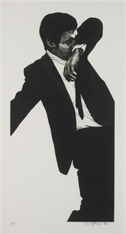 mark, from men in the cities by robert longo