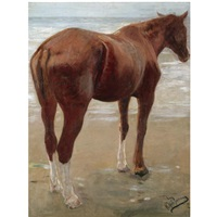 the bay horse by yuri il'ich repin