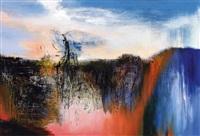 坐看云起时 (gazing at rising clouds) by yang shihong
