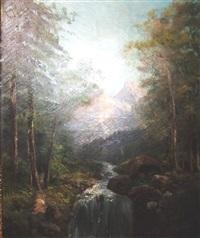 paysage de montagne by roger godechaux