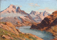 lac blanc by etienne bovier-lapierre