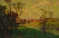 pennsylvania landscape by hugh henry breckenridge