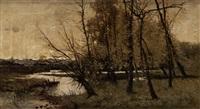 paisaje fluvial by manuel ramos artal