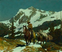 return from the hunt by frank tenney johnson