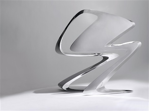 z chair by zaha hadid