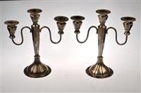 candelabras (pair) by maciel