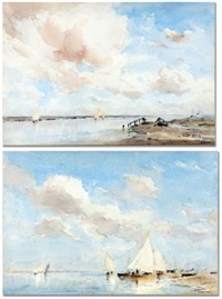 view of blakeney by arthur gerald ackermann