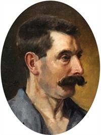 retrato masculino by ventura alvarez sala