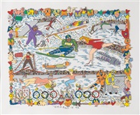 nagano in 98 by james rizzi