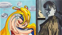 painting for hca by david salle