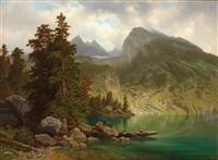 große landschaft by theodor (wilhelm t.) nocken