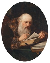 ein bärtiger schriftgelehrter by franz rögels