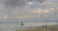 la mer à ouistreham by stanislas lépine