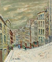 rue chevalier de la barre by elisée maclet