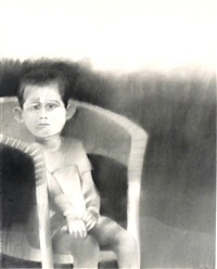 portrait of a boy in chair by john paul jones