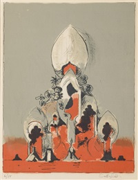 cathedral i by graham sutherland