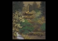 joruri temple tower by masahiro tsuchiya