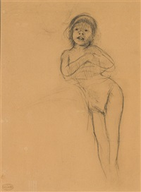 study of a young girl by mary cassatt